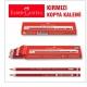 Faber-Castell Kırmızı Kopya Boya Kalemi , 12 adet